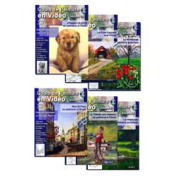 Série Cours de peinture en vidéo, volumes 19 à 24 a télécharger