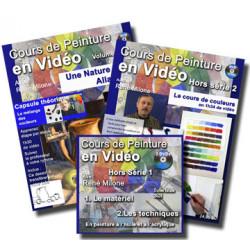 Ensemble de trois cours en vidéo pour débutant a télécharger