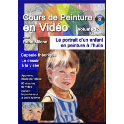 Volume 12 Le portrait d'un enfant à l'huile