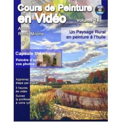Volume 14 Un paysage rural en peinture à l'huile a telecharger