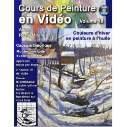 Volume 18 Couleurs d'hiver en peinture à l'huile à télécharger