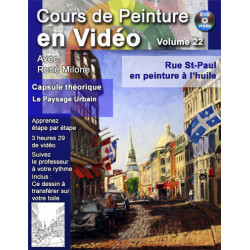Volume 22 Rue St-Paul de Montréal en peinture à l'huile a télécharger