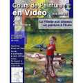 Volume 23 La fillette aux oiseaux en peinture à l'huile
