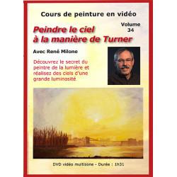 Volume 34. Peindre le ciel à la manière de Turner à télécharger