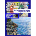 Volume 5 Un pêcheur sur un rocher en peinture à l'huile à télécharger