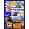 Volume 9 Un paysage impressionniste en peinture à l'huile