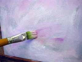 Cours De Peinture En Ligne équilibrer Les Verts