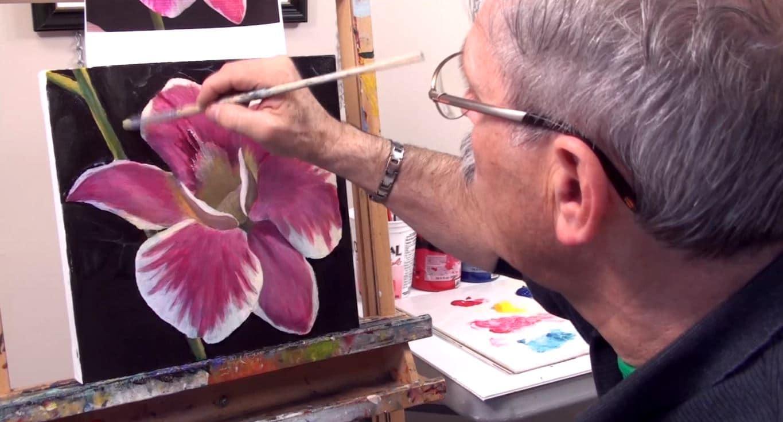 Cours de peinture avec Milone Art Academy