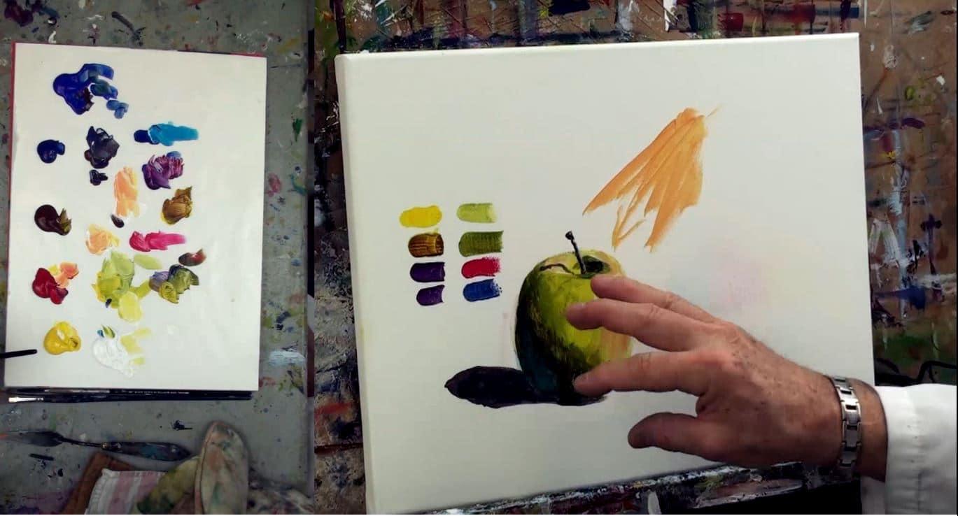 ombres et lumières en peinture