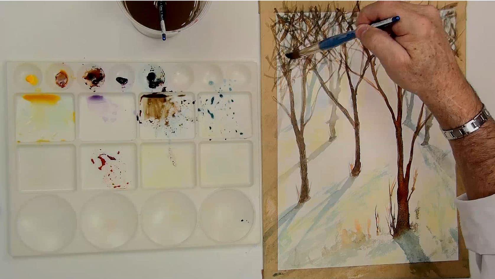 Apprendre l'aquarelle