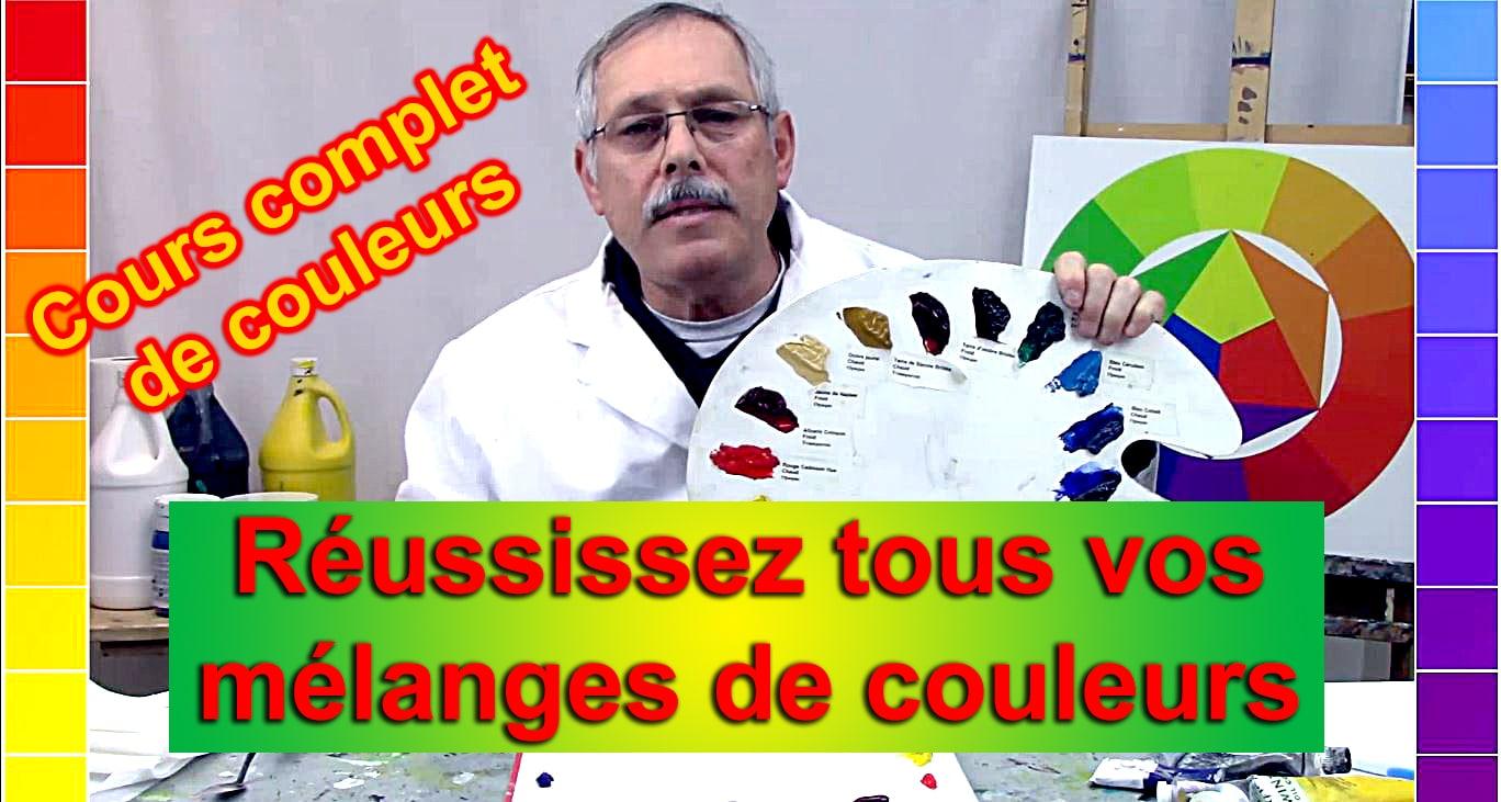 Maîtrisez rapidement tous vos mélanges de couleurs