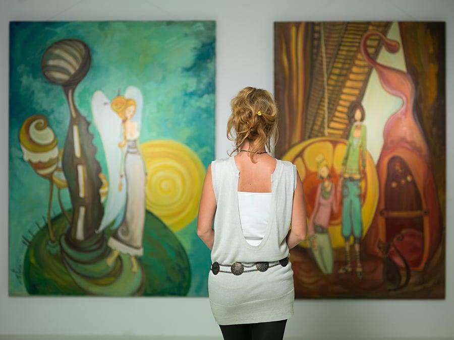Galerie des œuvres des membres de milone-art-academy.com
